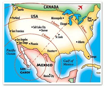 Los Cabos SJD Airport Location